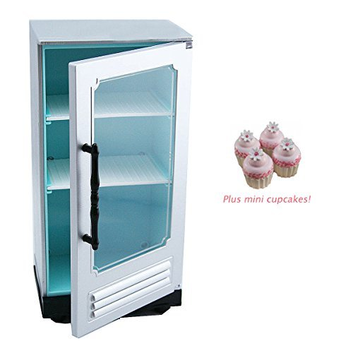 American Girl Grace French Bakery Refrigerator for 18 Inch Dolls with Cupcakes NEW (Doll French Bakery compare prices)