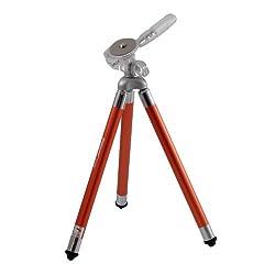 Fotopro FY-583 Alloy Retractable Portable Tripod for Digital Camera & Mini DV Recorder (Orange)