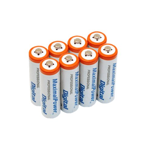 Maximal Power AAA4X2 8-Pieces AAA 1200mAh Ni-MH Rechargeable Batteries (Sold And Shipped By Amazon Only compare prices)