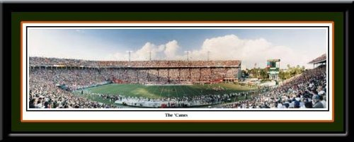 Miami Hurricanes Poster Miami Hurricanes Orange Bowl
