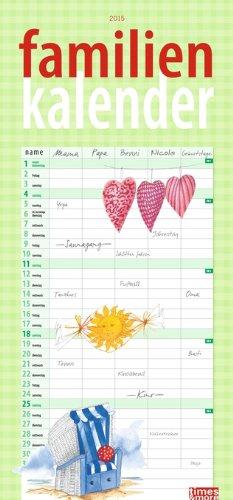 times&more Schaffner Familienplaner 2015, Buch