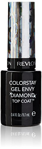 Revlon Colorstay Gel Envy Longwear Nail Enamel, Diamond Top Coat, 0.4 Fl Oz (Color Stay Gel Envy Nail Polish compare prices)
