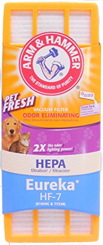 ARM & HAMMER Eureka HF-7 HEPA Filter (Eureka Vacuum Hf7 Filter compare prices)