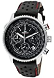 Rotary Rotary Gents Black Leather Chronograph Watch GS00100/04