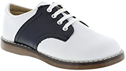 FootMates Unisex Cheer 3 (Infant/Toddler/Little Kid) White/Navy Oxford 3.5 Toddler M/W