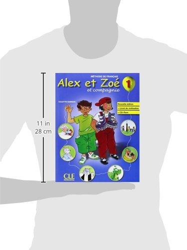 Livre: Alex et Zo - Niveau 1 - Livre CD Rom