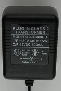 Power Supply AC Adapter 12V 800mA