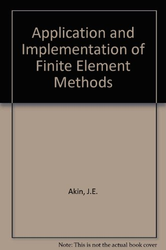 Application and Implementation of Finite Element Math