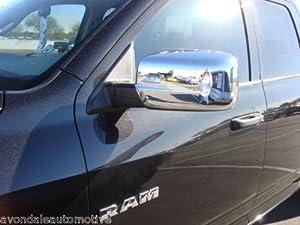 Dodge Ram 2010-2012 Chrome Mirror Covers Mopar OEM