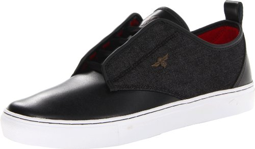 Creative Recreation Men's Lacava Fashion Sneaker,Black/Denim,10.5 M US