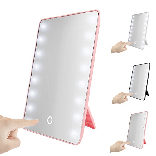 foldable-led-lighted-vanity-mirror-with-light-oenbopo-smart-touch-kickstand-16led-lighted-vanity-mir