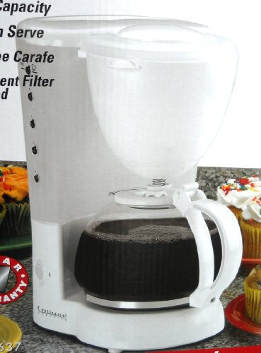 Continental Electric Coffee Maker How To Use : Coffeemaker: Continental Electric 10 Cup Coffee Maker Ce23637 White