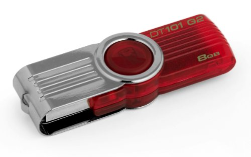 Kingston DataTraveler DT101G2 8GB USB-Stick USB 2.0 rot