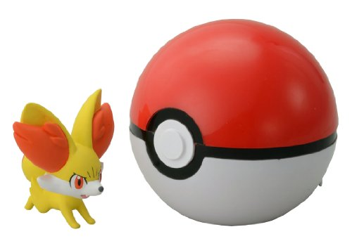 Takaratomy pokemon Monster Collection Figure B-02 Mon-Colle Monster Ball &Fennekin