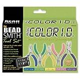 Beadsmith Beadsmith Mini Colour ID Tool kit - 8 Piece Pliers Set