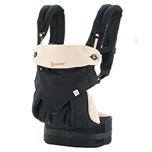 ERGObaby Four Position 360 Baby Carrier, Black