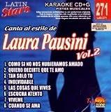 echange, troc Karaoke - Latin Stars Karaoke: Laura Pausini, Vol. 2