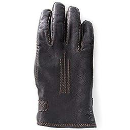 Hestra Deerskin Lambsfur Lined Glove - Men\'s Black 8