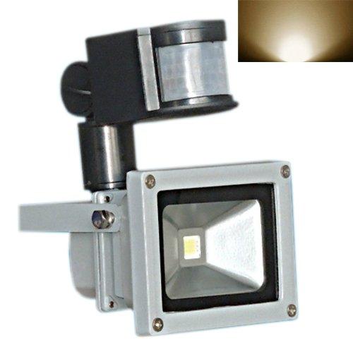 Hkbayi Brand New 30W Pir Motion Sensor Led Flood Light Floodlight Landscape Lamp Warm White Ac 85-265V
