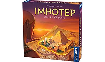 Imhotep Builder of Egypt Board Game by Thames & Kosmos