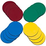 Magnum Magnetics-Corporation ProMAG 1-Inch Diameter Flexible Magnets in Assorted Colors (AFG-20000)