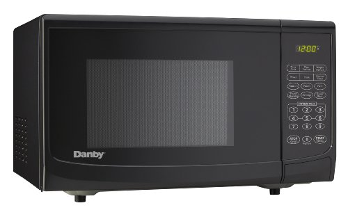 Danby 1.1 Cu.Ft. Countertop Microwave, Black front-14724