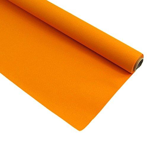 Duni Tischdeckenrolle Tischdecke 1,25 x 5m Fest Tisch versch. Farben Dunicel, Farbe:Orange