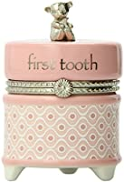 Nat and Jules First Tooth Keepsake Box, Pink by Nat and Jules