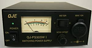 Regulated 30 Amp Compact Power Supply 13.8Vdc w/ Volt - Amp Meter!