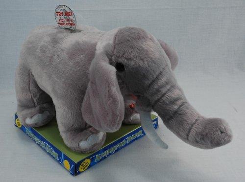 Animated Plush Elephant piggy Bank with Sound - 1