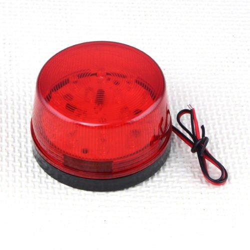 Smrroy Er 5Sd Red Led 12V Alarm Flashing Strobe Red Light For Home Security Alarm System
