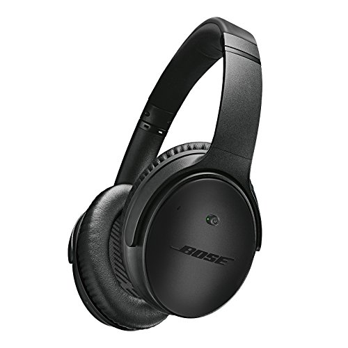Bose discount duty free Bose QuietComfort 25 Noise Cancelling Headphones, Special Edition for Apple Devices, Triple Black - Wired