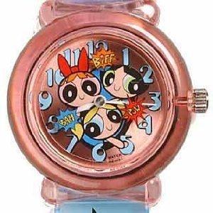 Cartoon Network Powerpuff Girls Wristwatch with rotating disc