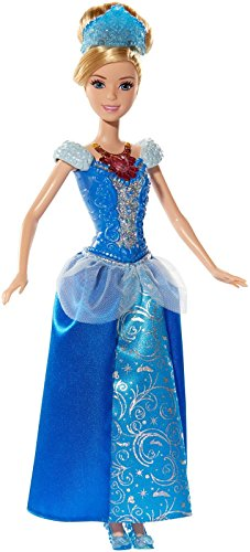 Disney Princess Glittering Lights Cinderella Doll