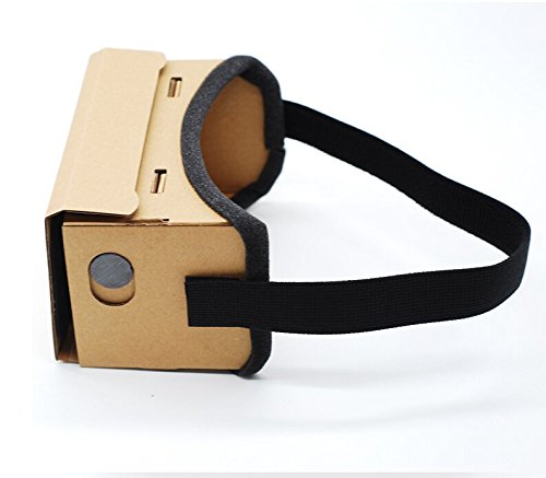 """High quality DIY Magnet Google Cardboard Virtual Reality VR Mobile Phone 3D Viewing Glasses For 5.0"""" Screen Google VR 3D Glasses"""