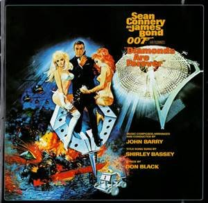 Original album cover of Diamonds Are Forever (James Bond Soundtrack) [LP] by James Bond - OST