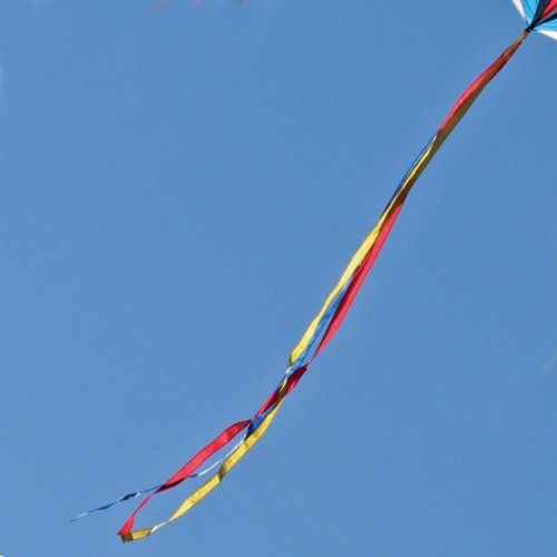 15-ft. Ribbon Kite Tail Red/Yellow/Blue