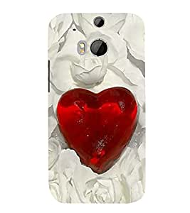 Vizagbeats love diamond Back Case Cover for HTC One M8::HTC M8