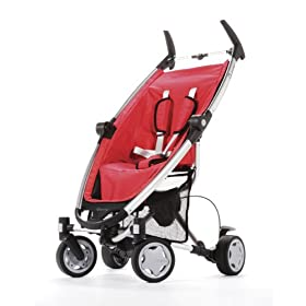 Quinny Zapp 4-Wheel Stroller Red Crimson