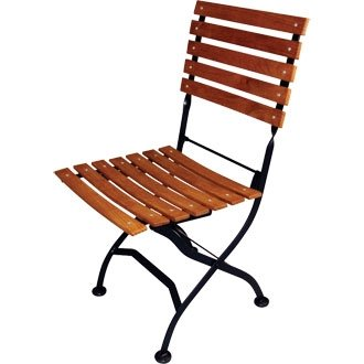 Teak Garden / Patio / Courtyard Folding Chair (Pack 2) - stylish and durable furniture for your Teak Garden