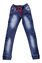 fourgee Boys Jeans (_ARY3031 copy, Blue, 13 - 14 Years)