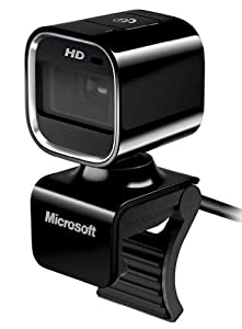 Microsoft Lifecam HD-6000 Webcam HD pour Notebook
