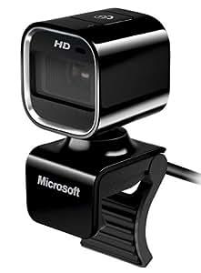Microsoft Lifecam HD-6000 Webcam HD pour Notebook