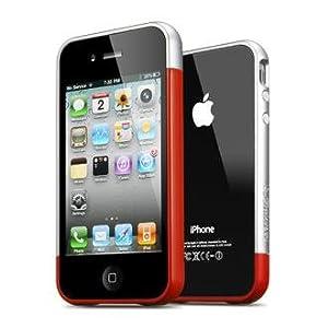 SPIGEN SGP iPhone 4 / 4S Case Linear EX Meteor Series [Dante Red]