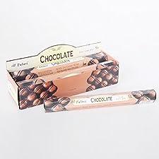 Incienso con aroma a chocolate en barritas (20 unidades)