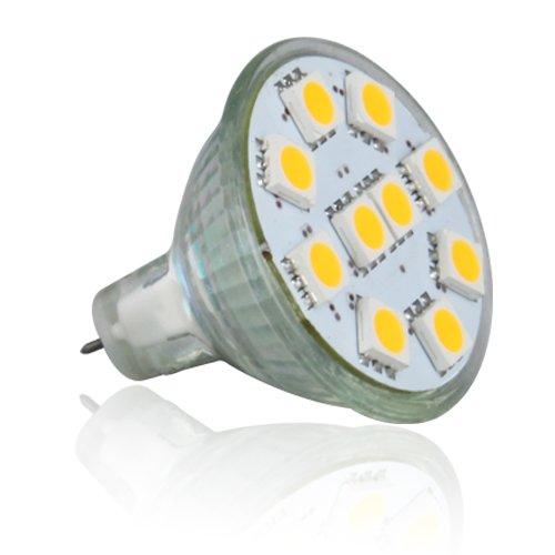 Le Brightest Mr11 Led Bulb, Gu4.0 Base, 12Vac/Dc, 165Lm, Flood Beam, Daylight White,Pack Of 2 Units