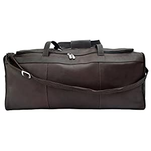 Piel Leather Traveler's Select Large Duffel Bag by Piel Leather