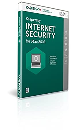 Kaspersky Internet Security for Mac 2016 (1 Device, 1 Year) Licence Key Retail Box (Mac)