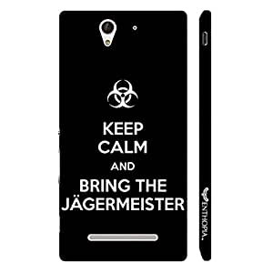 Enthopia Designer Hardshell Case ITS ALL ABOUT JAGER Back Cover for Sony Xperia C3