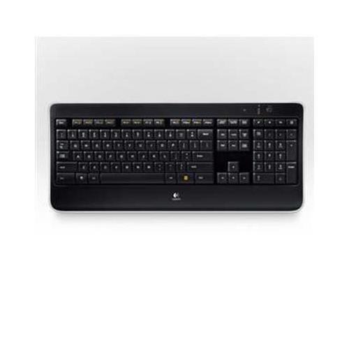 Logitech K800 Keyboard - Wireless - Usb